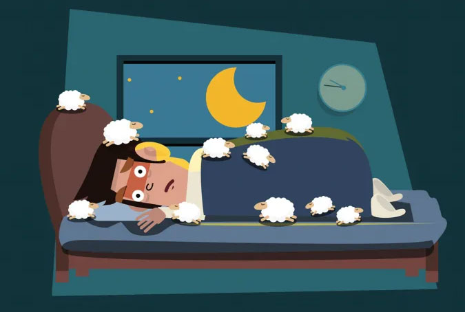 درمان کم خوابی