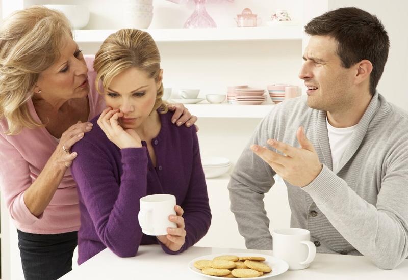 اختلاف شوهر با خانواده زن